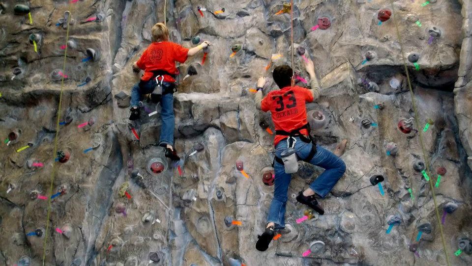 Climbing Page Troop 33 Dekalb Il